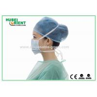Quality ISO13485 Single Medical Use Meltblown Nonwoven Tie On Face Mask for sale