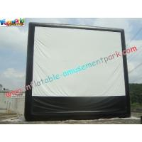 Quality Large Inflatable Projection Screen Outdoor Movie Theater For Christmas Decorations for sale