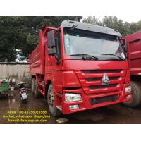 Quality 20 Cubic Meters Used Commercial Dump Trucks 375 Hp Horse Power CE Standard for sale