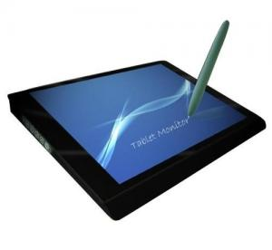 Quality 15.6 Inch LCD Flat Electromagnetic Touch Screen Rectangle Shape for sale