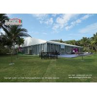 China Huge Outdoor Event Tents With Glass Walls And Doors For International Conference on sale