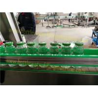 Buy cheap Crown Cap Glass Bottle Tea / Juice Filling Machine Mitsubishi PLC Control from wholesalers
