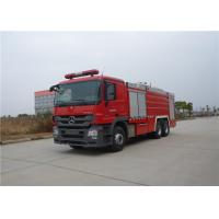Quality Manual Operation Fire Fighting Truck Max Speed 95KM/H Rear Roof Fire Monitor for sale