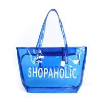 Buy cheap Colorful Plastic PVC Handle Shopping Bag 0.15~0.8mm Thickness Custom Printing from wholesalers