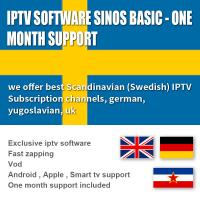 Buy Subscription 1000 Exclusive Software  Live / VOD 1 Month , Android  / IOS IPTV Box Sweden at wholesale prices
