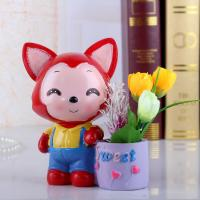 China Cartoon Resin Pen Holder,Resin Office Accessory Bedroom/Office Decoration gift on sale
