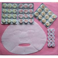 China Compressed Nonwoven Beauty Mask/facial Mask on sale