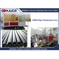Buy 3 Layer Co-extrusion HDPE Pipe Extrusion Machine/ Multilayer HDPE Pipe Production Machine 20-110mm  KAIDE at wholesale prices