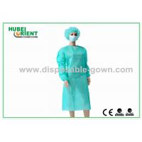 Quality Single Use Medical SMS Isolation Gown With Long Sleeves for sale