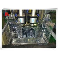 China High Safety PET Bottle Making Machine 5L Stretch Blow Moulding Double Start Working Button on sale