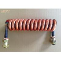 Quality Customized Condenser Coils Liquid Cooling / Finned Coil Heat Exchangers for sale