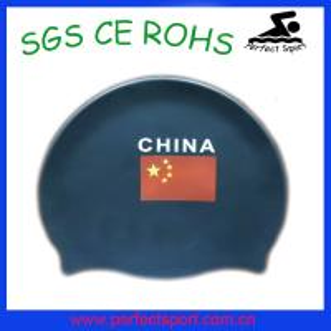 China High quality Soft swim caps / silicon swim cap on sale