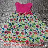 6aea3da69 Quality Summer Cotton Baby Flower Used Girls Dresses Second Hand Childrens  Clothing for sale