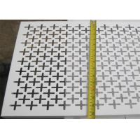 Quality Plain Weave Style Decorative Metal Sheets 1.22x2.44m Panel Size Panel And Coil Sku Type for sale