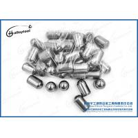 Buy cheap Tungsten carbide button of grade YG8 for rock tips spherical button mining tool from wholesalers