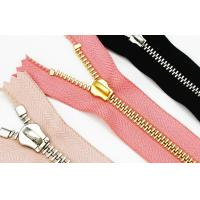 Quality Customize # 5 Black Nickel Open End Zippers For Shoes Bag Clothes anti-brass plated for sale