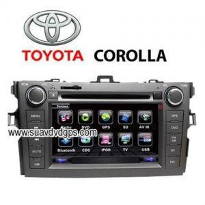 Quality TOYOTA Corolla Car DVD player TV,bluetooth,GPS navigation for sale