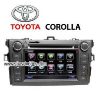 Buy cheap TOYOTA Corolla Car DVD player TV,bluetooth,GPS navigation from wholesalers
