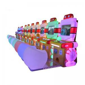 China Amusement Park Kids Arcade Machine Robot Delux Simulator Racing / Shooting / Fishing Video Arcade Game Machine on sale