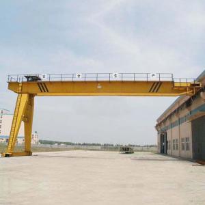 Quality Heavy Duty Semi Gantry Crane / 5T 10T Mini Single Girder Gantry Crane for sale