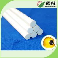 Quality Milk White Stick-Like Solid Water Resistence Hot Melt Glue Sticks Gun For Flame Resistence And Protect Safety for sale