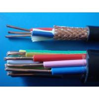 Quality PVC Insulation Flexible Shield Round Control Cable KVV 450/750V in black color for sale