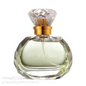 China Hexagonal diamond sarin cover glass perfume bottles30ml50ml on sale