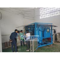 Quality Professional Multi - Stage Transformer Oil Purifier Machine 9000LPH 3 Phase for sale