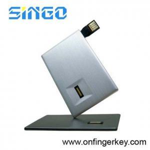 Quality Fingerprint USB Flash Drive Like Credit Card (FPU-0858) for sale