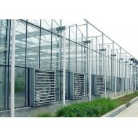China ContemporaryClear Prefab Modular House ,  Galvanized Steel Greenhouse Frame on sale