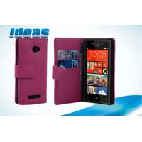 Quality Fashion Wallet HTC Leather Phone Case Cover Stand For HTC Windows Phone 8X for sale