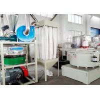 Quality Recycled Material PE Pulverizer Automatic Double Shaft With Suction Device for sale