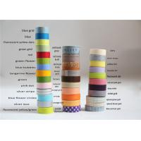 Quality Digital WWashi Masking Tape With Environment Friendly Japanese Paper Backing for sale