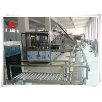 China Touch Screen Complete Bottled Water Production Lines 50 - 180 PCS/H With Water Treatment on sale