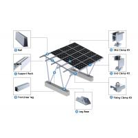 Aluminum Ground Mount Solar Structure Aluminum Shade