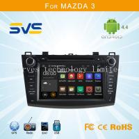 Quality Android 4.4 car dvd player GPS navigation for Mazda 3 2010-2012 with bluetooth/usb/sd/3g for sale