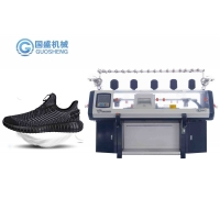 Quality 36 Inch Flyknit 3D Shoe Upper Vamp Collar Flat Knitting Machine for sale