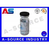 Quality Hologram Pharmaceutical 10ml Vial Labels  Stickers Printed For Plastic Tablet Containers for sale