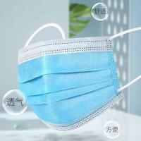 China 3 Layers Disposal Face Mask 3 Layers Respirator Mouth Face Mask on sale