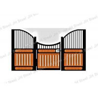 China Horse Stall Front with swing door in hot dipped galvanized or black coated on sale