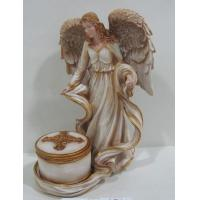 China Poly resin art Fairies and Angel Collectible Figurines collectibles for anniversary gifts on sale