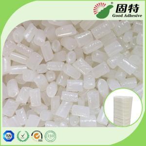 Quality EVA Yellow Hot Melt Pellets Excellent Flowability For Close - Pleat Air Filter for sale