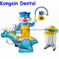 Quality Rotatable ceramic spitton electric children dental chair unit for sale