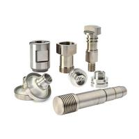 Quality High Precision Custom CNC Machining Parts SS Al Smooth Hydraulic Valve And Fittings for sale