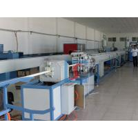 China PPR Plastic Pipe Production Line With Cold Water Systems , Pipe Production Line on sale