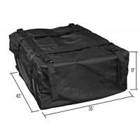 Quality Large Capacity PVC Coated Nylon Roof Top Cargo Bag / Roof Rack Storage Bag for sale