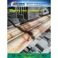 Quality PVC artificial marble profile making machine extrusion line marble profile production line for sale