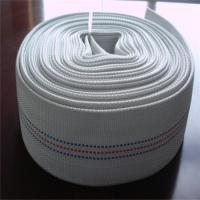 Quality Polyester jacket colorful lined flexible lay flat hose woven for sale
