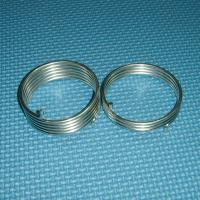 China Carbon steel / stainless steel / Spring Steel Extension Springs, 40 - 50HRC hardness on sale