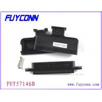Quality 180 Degree Plastic Cover TYCO AMP 32 Pairs 64Pin Connector IDC Female Receptacle Type for sale